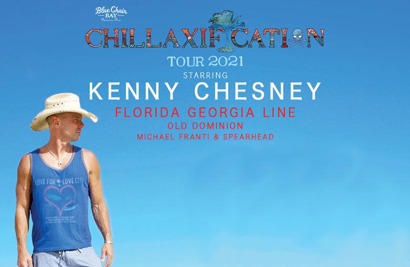 Kenny Chesney announces his 2022 Chillaxification Stadium Tour!