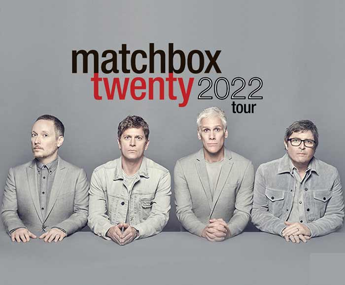 Matchbox Twenty will be on tour in 2022 with The Wallflowers!