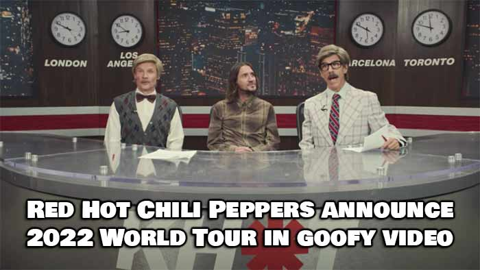 Red Hot Chili Peppers Announce Their 2022 World Tour